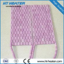 Elemento de aquecimento aquecedor de cerâmica flexível