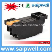 PYF08A / MY2 8-контактный релейная база розетка автоматического реле гнездо печатной платы