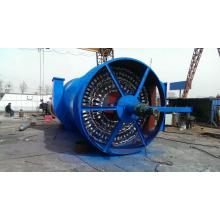 Mechanical anti-blowing dust collector