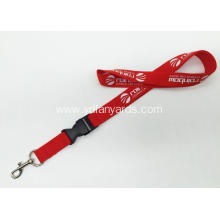 Neck Promotion One Color Silk Screen Lanyard