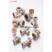 Brass Compression Pex-Al-Pex Fittings