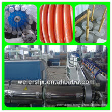 pvc fiber reinforced hose machine