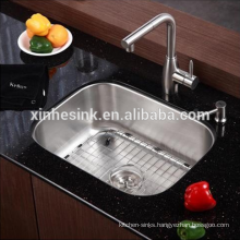 Undermounted CUPC Stainless Steel SUS 304 Single Bowl kitchen Sink, Bar sink