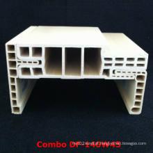 Architrave Df-140W45 facilmente instalado e ajustável da porta Framewpc de WPC