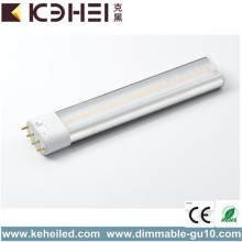 2G11 7W 4000K LED Tube Replace 18W CFL