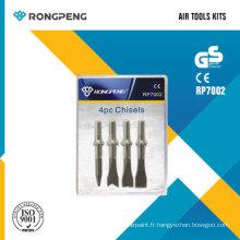 Kits d'outils pneumatiques Rongpeng RP7002 ciseaux 4PCS