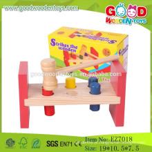 2015 Novos mais populares Jato de martelo Brinquedos Ferramentas educacionais Brinquedos de madeira de brinquedo de madeira