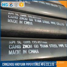 ASTM A106 Gr.B SCH60 Seamless Ms Black Pipe