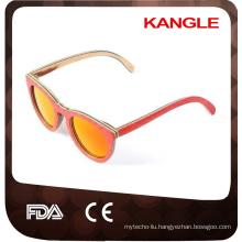 2017 Wholesale China Factory wood Sunglasses