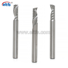 CNC Router Bits Carbide Single Spiral Flute End Mill for Aluminum