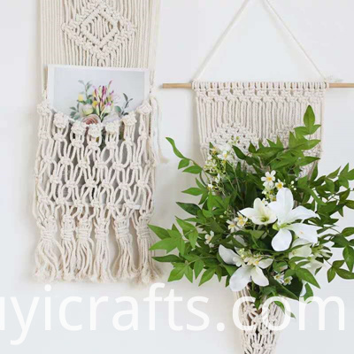 knitted wall hangings