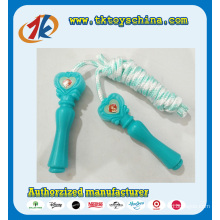Heart Design Handle Jumping Skipping Rope for Kids