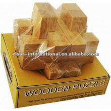 Luban Key puzzle de madeira, estilo de luxo