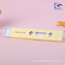 fashion jewelry drawer box with window for necklace