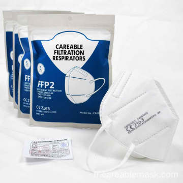 Respirateurs de filtration Pm2.5 FFP2 CE2163 EN149