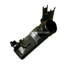 Injection molding for automotive exhaust pipe
