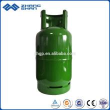 Bouteille de gaz de haute qualité de cylindre hydraulique soudé avec la valve en laiton