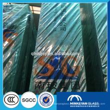 precio del vidrio flotado, vidrio flotado teñido, 15mm 12mm construcción de hoja de vidrio flotado transparente con SGCC