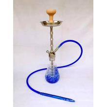 Große Hand Blaue Farbe Made Glass Shisha