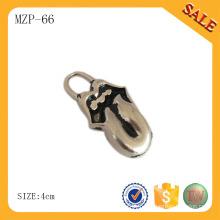 MZP66 Extracteur de fermeture à glissière en métal, Fermetures à glissière personnalisées, glissière zippée en métal pour vêtement