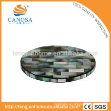 CBM-CS03 Copo de madrepérola preto amigável do copo de água