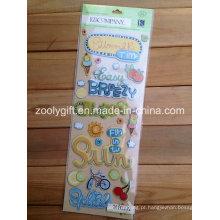 Artesanato de papel Handmade Scrapbooking Enfeites Autocolantes Adesivos
