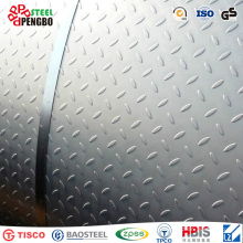 Mild Checkered Steel Plate (Q235, Ss400 ASTM A36)