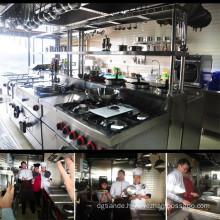 Luxury Stainless Steel Italian Kitchen Equipment