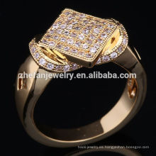 Diseños de anillo de rubí de 1 gramo de oro de India