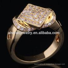 1 grama de ouro India rubi anel projeta