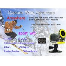 SJ4000 câmera de ação WIFI condução subaquática 30M câmera à prova d'água 1080p Full HD GoPro estilo câmera digital
