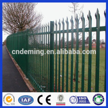 Palisade Fencing with Various colors for factory