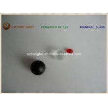 Fabricación de grano de vidrio translúcido para cadena