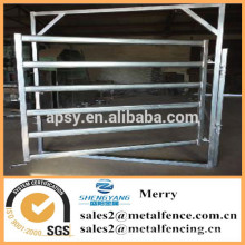 caliente galvanizado galvanizado corral caballo cerca metal poste ganado granja valla panel