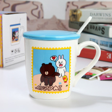 Funny Pattern Colorful Porcelain Mug