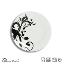 Popular White Porcelain with Full Decal Salad Plate