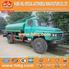 DONGFENG 4x2 6000L dung collecting car 140hp cheap price
