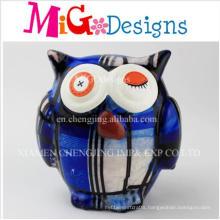 OEM Children Gift Blink Owl Dolomite Saving Bank