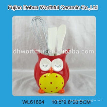 Рекламный держатель керамической посуды с формой совы
