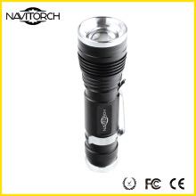 Zoomable перезаряжаемые проблесковый свет 240lm мощный (NK-630)