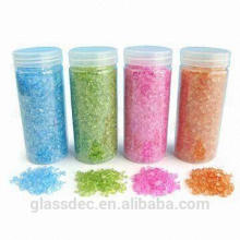 Farbiger dekorativer Sand