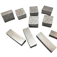 High copper content cutting marble diamond segment for diamond circular saw blade