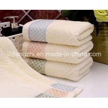 Toalla de mano cuadrada 100% algodón Jacquard