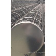 Gaiola de filtro de saco para coletor de poeira