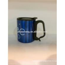 customized design ceramic mug with carabiner