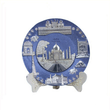 Collectible use alta qualidade lembrança fina placa de metal
