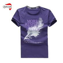 Roud Neck Custom Plain T-Shirt (Z019)