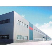 Entrepôt de fabrication en acier