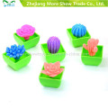 Hot Fashion Growing Toys for Chindren Mini Ponsai Funny Growing Cactus Can Grow