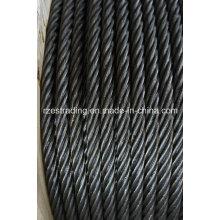 6 * 36ws + FC rejeitarem corda de fio de aço para mineração